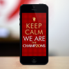 MANCHESTER UNITED IPHONE'S WALLPAPER CHAMP20NS ver.