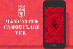 #ManchesterUnited iPhone's Wallpaper Camo Ver.