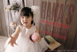 ハーツスタジオで3歳になる娘の記念撮影をしてきました