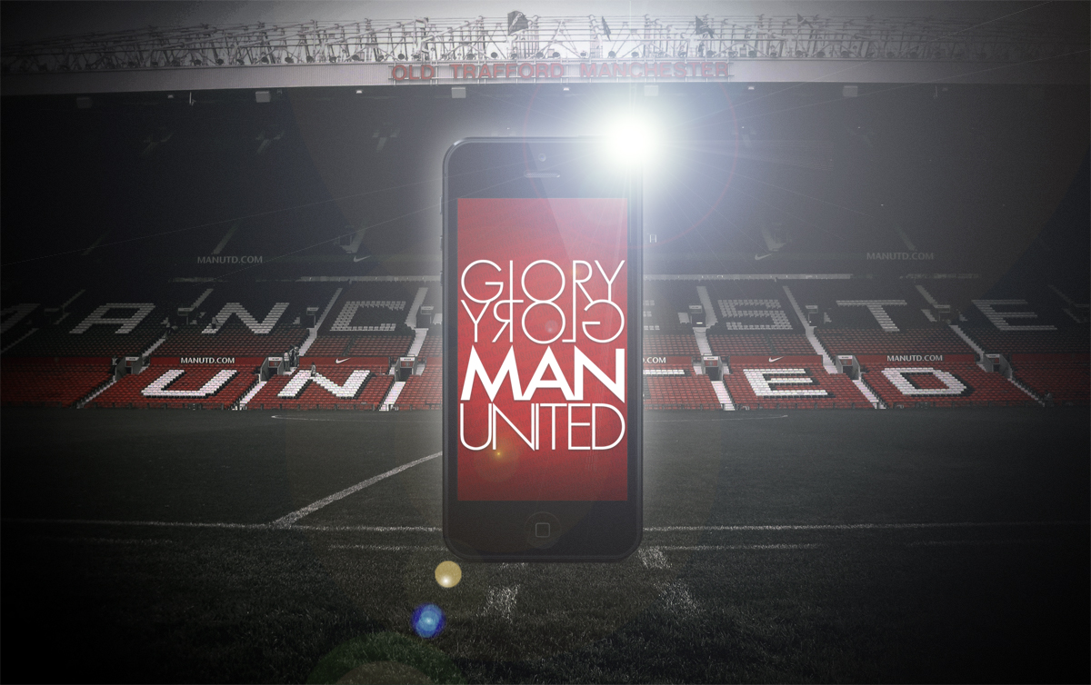 Manchester united iphones wallpaper groly groly man united ver ip5oldtrraford voltagebd Images