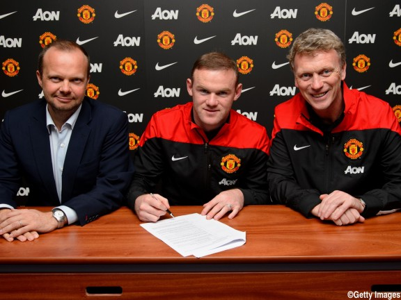 Wayne Rooney Signs Contract Extension With Manchester United